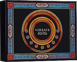 Voňavky, Parfémy, kozmetika Versace Pour Femme Dylan Blue - Sada (edp/50ml + b/l/50ml + s/g/50ml)