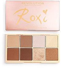 Voňavky, Parfémy, kozmetika Paleta na make-up - Makeup Revolution Roxxsaurus Roxi Highlight & Contour Palette