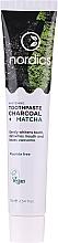 Voňavky, Parfémy, kozmetika Bieliaca zubná pasta s uhlím a matchou - Nordics Whitening Charcoal Matcha Tooshpaste