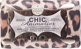"Voňavky, Parfémy, kozmetika Mydlo ""Bronz Leopard"" - Nesti Dante Chic Animalier Soap"