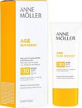 Voňavky, Parfémy, kozmetika Opaľovací krém na tvár - Anne Moller Age Sun Resist Protective Face Cream SPF30
