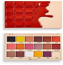 Voňavky, Parfémy, kozmetika Paleta očných tieňov - I Heart Revolution Eyeshadow Chocolate Palette Cinnamon