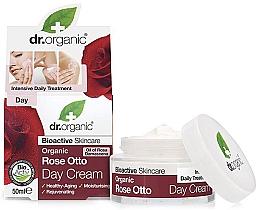 """Voňavky, Parfémy, kozmetika Denný krém proti starnutiu """"Ruže otto"""" - Dr. Organic Bioactive Skincare Rose Otto Day Cream"""