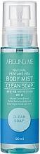 Voňavky, Parfémy, kozmetika Hmla na tvár - Welcos Around Me Natural Perfume Vita Body Mist Clean Soap