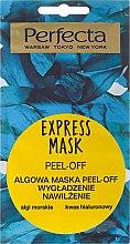 Voňavky, Parfémy, kozmetika Maska zlupovacia na tvár s riasami - Perfecta Express Mask