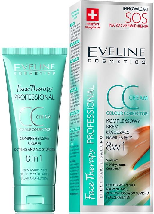 CC krém upokojujúci-spevňujúci - Eveline Cosmetics Therapy