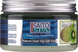 """Voňavky, Parfémy, kozmetika Soľný telový scrub """"Kiwi a hruška"""" - Saito Spa Aalt Body Scrub Kiwi Pear"""