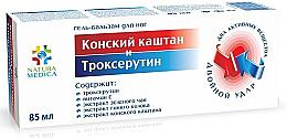 Voňavky, Parfémy, kozmetika Gélový balzam na nohy Gaštan konský a Troxerutín - Natura Medica