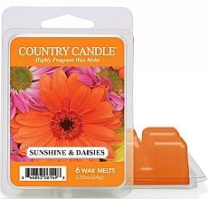Voňavky, Parfémy, kozmetika Aromatický vosk pre vonnú lampu - Country Candle Sunshine & Daisies Wax Melts