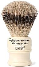 Voňavky, Parfémy, kozmetika Štetka na holenie, SH1 - Taylor of Old Bond Street Shaving Brush Super Badger size S