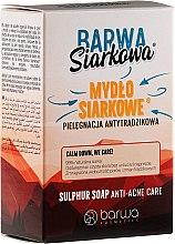 Voňavky, Parfémy, kozmetika Antibakteriálne sírne mydlo - Barwa Anti-Acne Sulfuric Soap