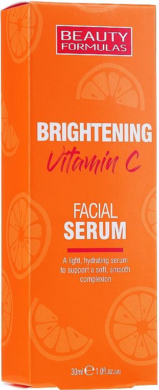 Rozjasňujúce sérum na tvár s vitamínom C - Beauty Formulas Brightening Vitamin C Facial Serum