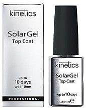 Voňavky, Parfémy, kozmetika Vrchový náter na gélový lak - Kinetics Top Coat Solar Gel Up To 10 Days