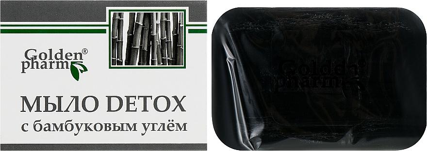 Mydlo s bambusovým uhlím - Golden Pharm  — Obrázky N1