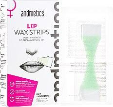 Voňavky, Parfémy, kozmetika Vosk na pery - Andmetics Lip Wax Strips Women