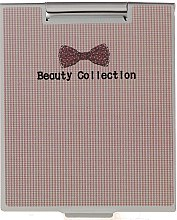 Voňavky, Parfémy, kozmetika Zrkadlo v kovovom puzdre 85567, kockované - Top Choice Beauty Collection Mirror