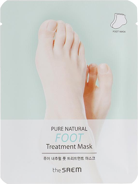 Maska na nohy - The Saem Pure Natural Foot Treatment Mask — Obrázky N1
