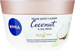 Voňavky, Parfémy, kozmetika Suflé na telo s kokosom a olejom monoi - Nivea Body Souffle Coconut & Monoi Oil
