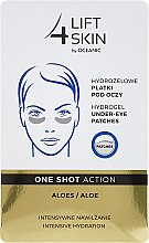 Voňavky, Parfémy, kozmetika Náplasti pod oči - Lift4Skin Hydrogel Under-Eye Patches Aloe
