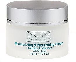 Voňavky, Parfémy, kozmetika Hydratačný a výživný krém s avokádo a aloe vera - Dr. Sea Moisturizing and Nourishing Cream