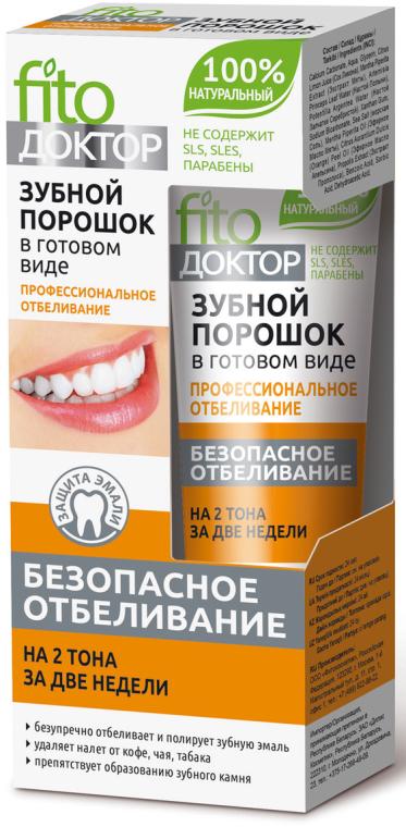 """Hotový zubný prášok """"Profesionálne bielenie"""" - Fito Kosmetik"""