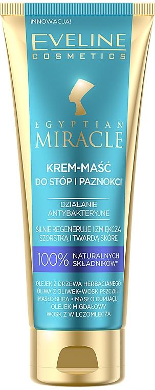 Krémová maska na chodidlá - Eveline Cosmetics Egyptian Miracle