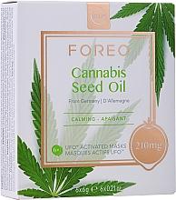 Voňavky, Parfémy, kozmetika Upokojujúca maska na tvár s konopným olejom - Foreo UFO Cannabis Seed Oil Mask