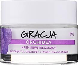 Voňavky, Parfémy, kozmetika Revitalizačný krém proti vráskam s extraktom z orchideí a kyselinou hyalurónovou - Gracja Orchid Revitalizing Anti-Wrinkle Day/Night Cream