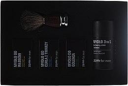 Voňavky, Parfémy, kozmetika Sada - Zew Barber's Holiday Set (soap/3x85ml + brush)