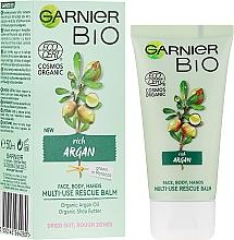 Voňavky, Parfémy, kozmetika Multifunkčný krém na tvár a telo s arganovým olejom - Garnier Bio Rich Argan Multi-Use Rescue Balm