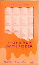 """Voňavky, Parfémy, kozmetika Vaňová bomba - I Heart Revolution Chocolate Bar Bath Fizzer """"Peach"""""""