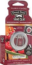 Voňavky, Parfémy, kozmetika Tekutá vôňa do auta - Yankee Candle Smart Scent Vent Clip Black Cherry