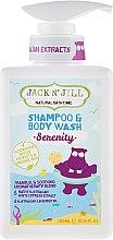 Voňavky, Parfémy, kozmetika Detský sprchový gél a šampón 2v1 - Jack N' Jill Serenity Shampoo & Body Wash