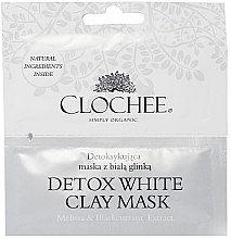 Voňavky, Parfémy, kozmetika Detoxikačná maska s bielou hlinkou - Clochee Detox Wax Clay Mask