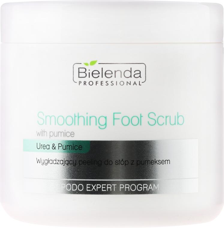 Peeling na nohy - Bielenda Professional Podo Expert Program Smoothing Foot Scrub With Urea and Pumice