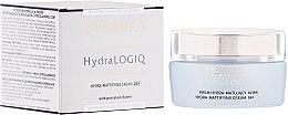 Voňavky, Parfémy, kozmetika Denný matujúci krém na tvár - Dermika Hydralogio Hydra Mattifying Face Cream 30+