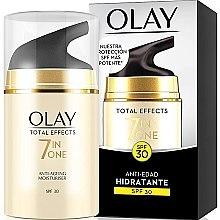 Voňavky, Parfémy, kozmetika Hydratačný denný krém SPF30 - Olay Total Effects Anti-Edad Hidratante SPF30