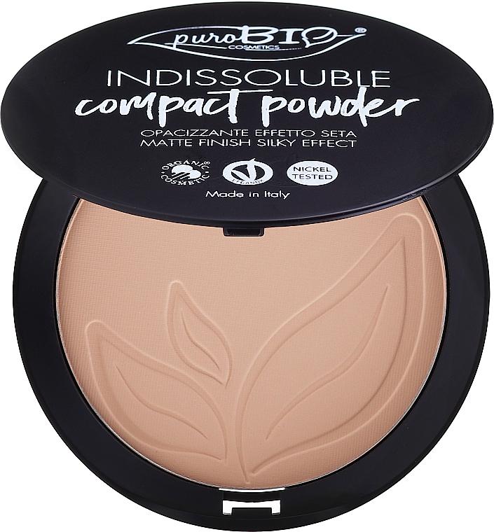 Kompaktný púder na tvár - PuroBio Cosmetics Compact Powder