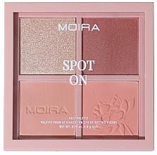 Voňavky, Parfémy, kozmetika Paleta na líčenie tváre - Moira Spot On Face Palette