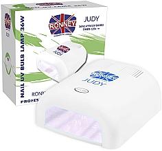 Voňavky, Parfémy, kozmetika Lampa na nechty UV, biela - Ronney Profesional Judy UV 36W (GY-UV-230) Lamp