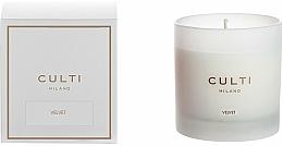 Voňavky, Parfémy, kozmetika Vonná sviečka - Culti Milano Candle Bianco Velvet