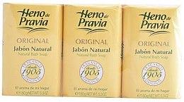 Voňavky, Parfémy, kozmetika Heno de Pravia Original - Sada (soap/3x150g)