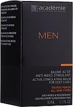 Voňavky, Parfémy, kozmetika Aktívny stimulačný krém po holení - Academie Men Active Stimulating Balm for Deep Lines