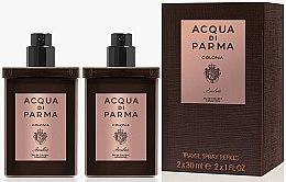 Voňavky, Parfémy, kozmetika Acqua di Parma Colonia Ambra Travel Spray Refills - Kolínska voda