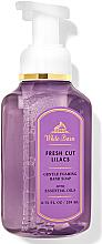 Voňavky, Parfémy, kozmetika Mydlo a pena na ruky Fresh Cut Lilacs - Bath and Body Works White Barn Fresh Cut Lilacs Gentle Foaming Hand Soap