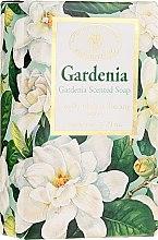 """Voňavky, Parfémy, kozmetika Prírodné mydlo """"Gardénia"""" - Saponificio Artigianale Fiorentino Masaccio Gardenia Soap"""