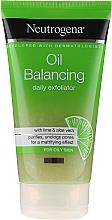 Voňavky, Parfémy, kozmetika Každodenný peeling - Neutrogena Oil Balancing Daily Exfoliator