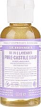 "Voňavky, Parfémy, kozmetika Tekuté mydlo ""levanduľa"" - Dr. Bronner's 18-in-1 Pure Castile Soap Lavender"