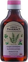 Voňavky, Parfémy, kozmetika Lopuchový olej s výťažkom z prasličky proti vypadávaniu vlasov - Green Pharmacy