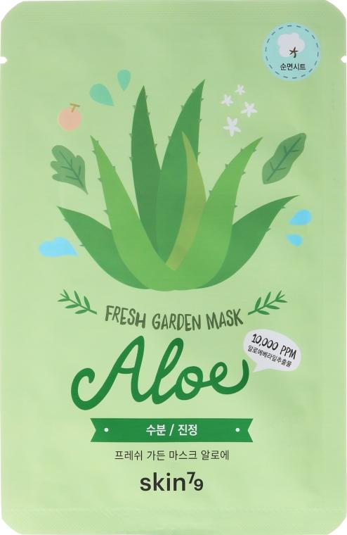Látková maska na tvár - Skin79 Fresh Garden Mask Aloe